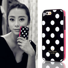Classic Polka Dot 3in1 Protect Hard Back Cover Case Cover for iPhone 4 4S KS