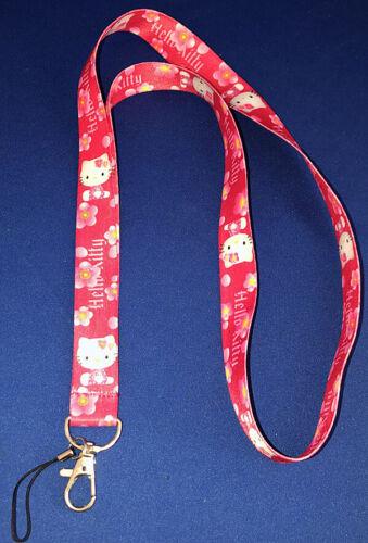 """Hello Kitty 18/"""" Lanyard Keychain Pink Style 2"""