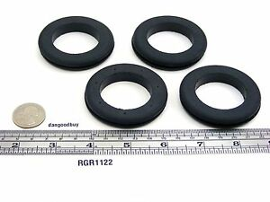 "50 Very Large Rubber Grommets 1 1/2"" Inner Diameter - Fits 2"" panel hole"