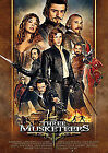 The Three Musketeers (3D Blu-ray, 2012, 2-Disc Set)