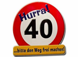 Riesenschild-zum-40-Geburtstag-Dekoration-Party