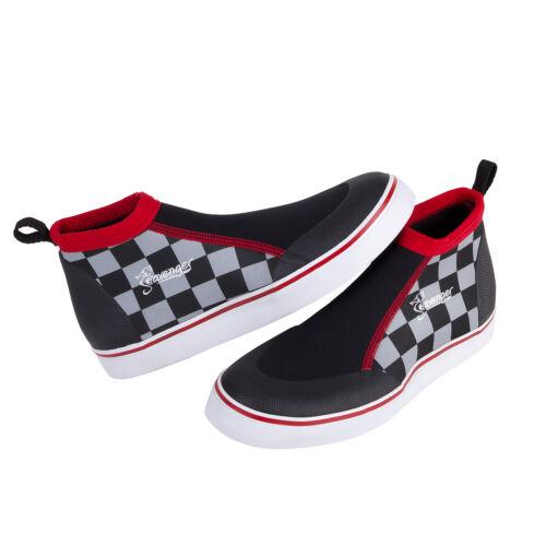 Seavenger Sneaker Style Aqua Shoes 3mm Neoprene Low Cut Snorkeling, Dive-Checker