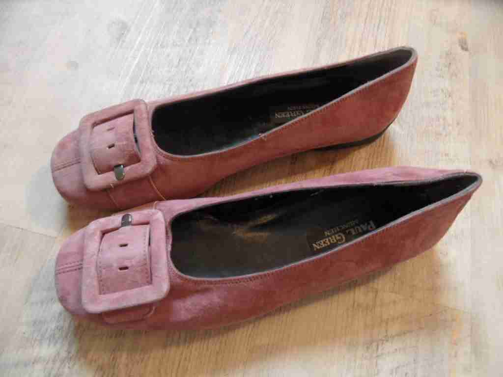 Paul Green hermosas nubukleder pumps m hebilla rosa malva /2 38,5 top hmi1216