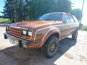 AMC-EAGLE-WAGON-1985-4-2-STRAIGHT-6-AUTO-PETROL-ESTATE-4X4-AMERICAN-YANK