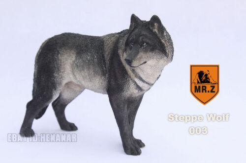 1:6 Scale Mr.Z Animal Toys Steppe Wolf Resin Figure 4 Color Model Present New