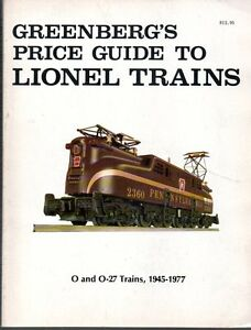 Greenberg's Guide To American Flyer Trains Second Edition 1984