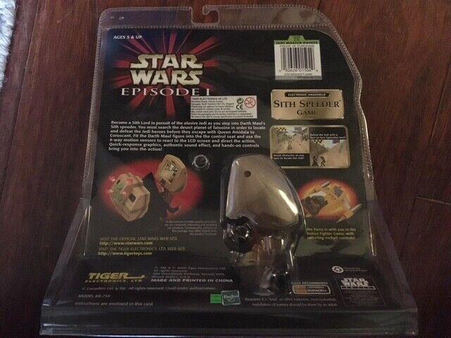 Star Wars Episode 1 Darth Maul Maul Maul Sith Speeder Game Still FAO black Hasbro Tiger 0ecd9f