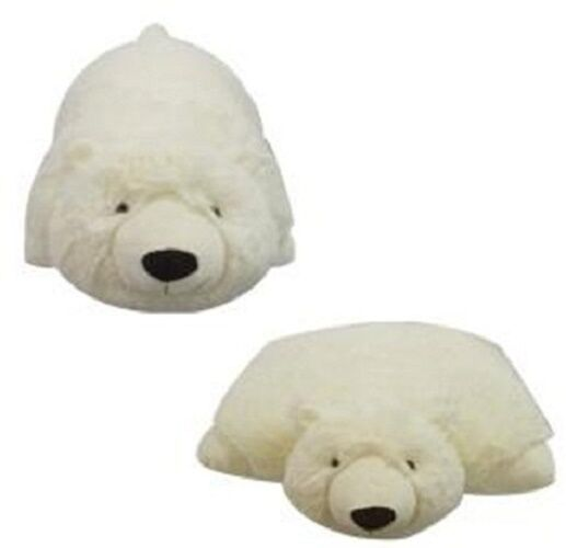 Small POLAR BEAR PET PILLOW 11    Plush & Plush  Brand, my  Plush Icy Toy Nuovo