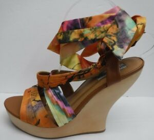 9dc6ff39479f Steve Madden Size 8.5 Wedge Heel Sandals New Womens Shoes