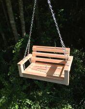 Handmade cedar squirrel feeder Swing