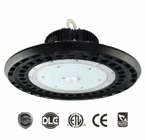 LED UFO 100W 150W 200W High Bay Light 5000K Industrial Lighting ETL/&DLC Listed
