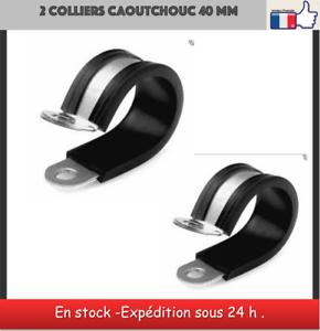 Colliers de serrage à durit avec Caoutchouc DIN 3016 RSGU 6-50 mm