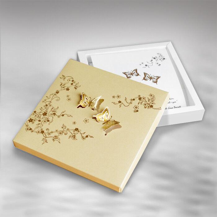 Einladungskarte Hochzeit Hochzeit Hochzeit FEB01 Einladungsbox Schmetterling | Verwendet in der Haltbarkeit  | Outlet Store Online  | Clearance Sale  7ee320