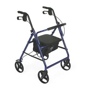 medline lightweight rollator medical mobility folding ForMobility Walker