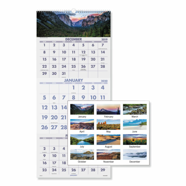 December 2017 - January 2019 Calendar AT A GLANCE Wall Calendar 2018 December 2017   January 2019 3