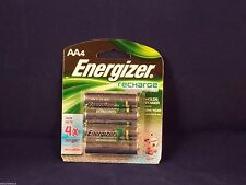 Energizer AA Rechargeable Battery 4 pack 2300mAh NH15BP-4 NIP USA guaranteed