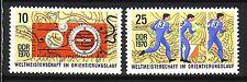 DDR Nr.  1605-06 **  WM im Orientierungslauf