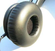 2 Große Ohrpolster aus Schaumstoff  zB f. Sennheiser PC 151 PC151 Headset  68 mm