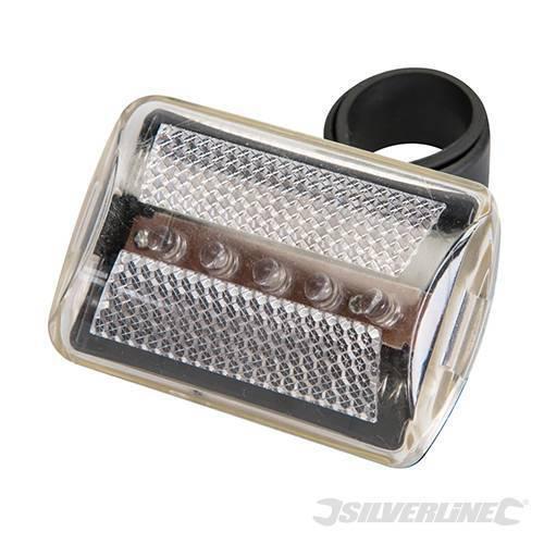 Eclairage de vélo 5 LED, VOIR TABLEAU MODELES  ( EN STOCK )