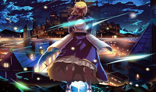 F1006 Fate Series Card Game Playmat Anime Playmat CCG Mat Saber Altria Pendragon