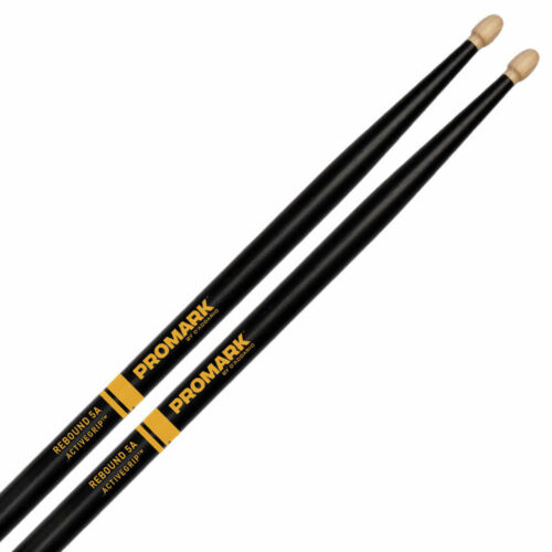 ProMark R5AAG 5A Rebound Active Grip ActiveGrip Wood Tip Drumsticks 1x Pair