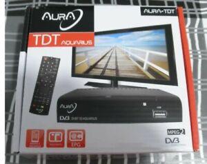 SINTONIZADOR-RECEPTOR-AURA-TV-TDT-DVB-T-TNT-AQUARIUS-USB-REC-SCART-MPEG1-MPEG2
