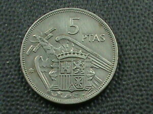 Spanien-5-Peseten-1970-Maximum-in-USA