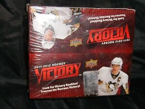 2011-12-UPPER-DECK-VICTORY-SEALED-HOCKEY-BOX-36-packs-FREE-SHIPPING