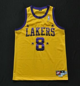 Details about KOBE BRYANT #8 Los Angeles Lakers Rewind 1957 Nike Swingman Jersey Yellow Mens M