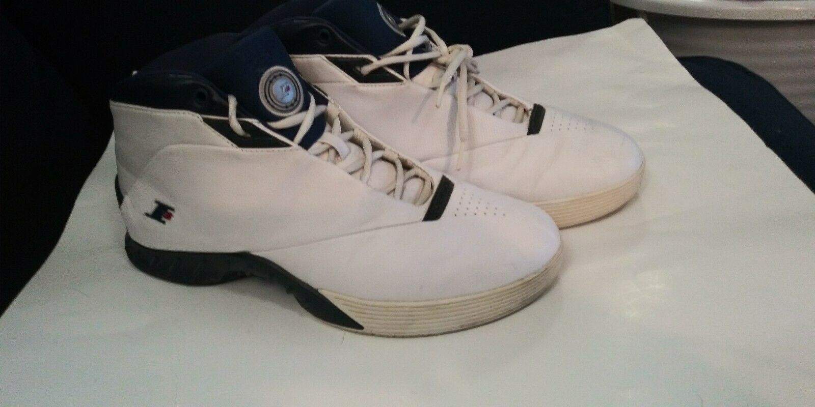 big sale be7c9 da0e1 Reebok I3 Men s Answer Allen Iverson shoes SZ 12 White Philly Basketball  4-99655 nzxyvs10290-Men s Trainers