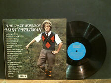 MARTY FELDMAN  The Crazy World Of . . .  LP  Comedy  NEAR-MINT !