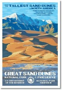 where is the great sand dunes national park