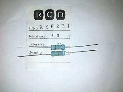 RGA 2W 2 Watts Metal Oxide Resistor 0.18 OHM 0R18 5/% Lot of 10 pieces
