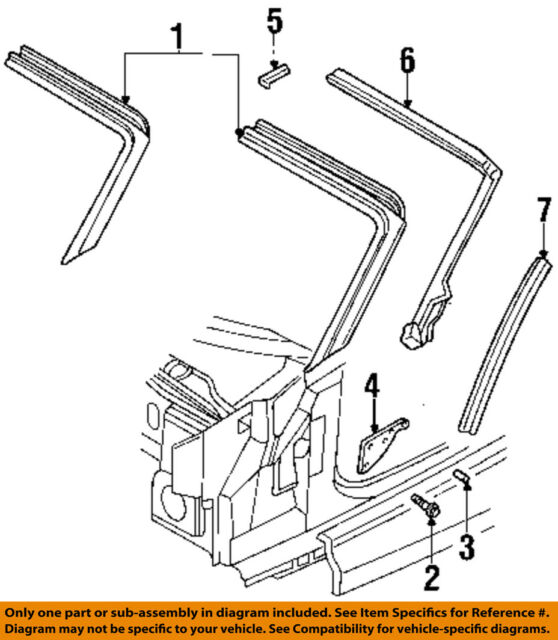 CHRYSLER OEM Windshield Header-windshield Frame Bolt 6101723   eBay
