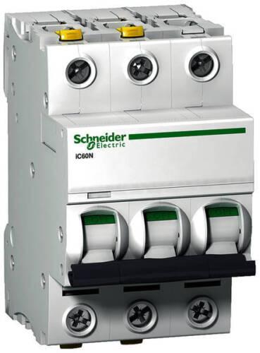 """neu 32 A Leitungsschutzschalter Schneider Electric ACTI9 /""""C/"""" 3pol. 10 A"""