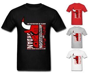 Nouveau-T-Shirt-Homme-Michael-air-legend-23-Jordan-Chicago-Bulls-Men-shirt-Top-Tumblr