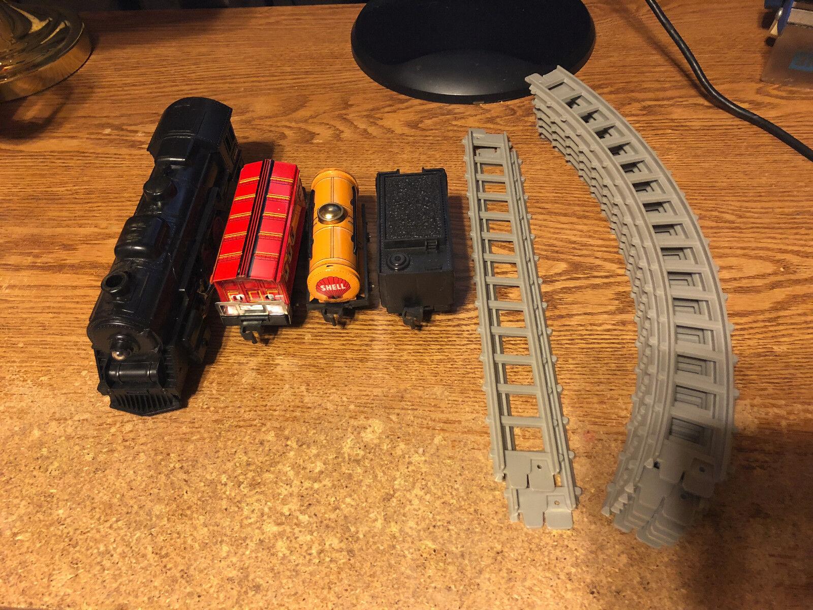 Locomotora de Japón  y  C.156 Escala S la energía de la batería Tin Train Set con pistas