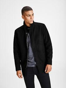 38a93ead2210aa Jack   JONES Premium Moolin Wool Jack in Dark Grey (rst107)