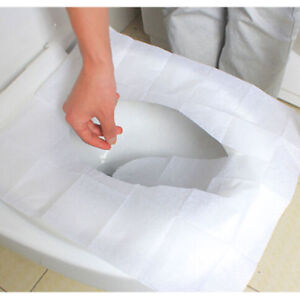 Peachy Details About New Disposable Flushable Toilet Seat Covers Protection Festival Camping Hygienic Ibusinesslaw Wood Chair Design Ideas Ibusinesslaworg