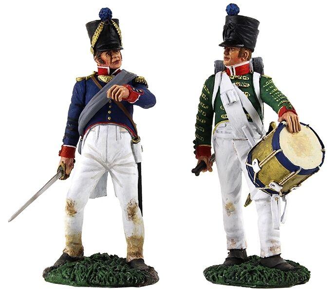 Britains Napoleonisch Französische 36141 Linien-Infanterie Befehl Set MIB