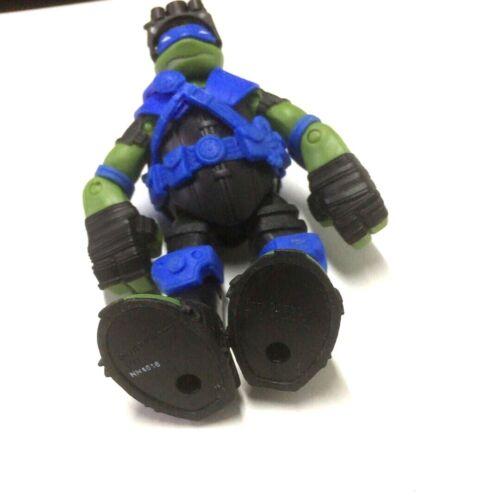 """TMNT Teenage Mutant Ninja Turtles 2013 Stealth Tech Leo 4.5/"""" Action Figure toy"""