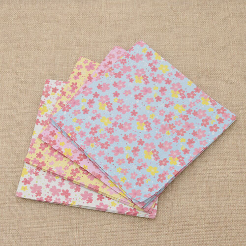 Japanese Cherry Blossom Origami Paper Scrapbooking DIY Craft Accessories 1 Set