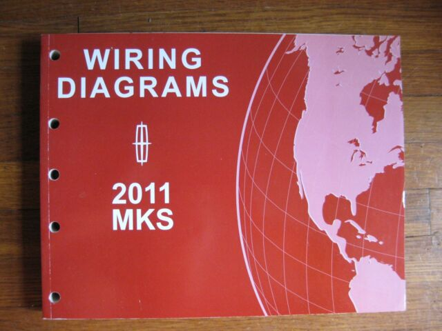 2011 Lincoln Mks Electrical Wiring Diagram Service Manual