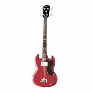 EPIPHONE EB-0 Sg-Style Electric Bass IN Red Cherry