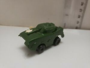 Vintage-Military-Friction-Vehicle-Tank-Durham-Industries-Wind-up-toy-Fast-ship