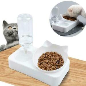 Automatic-Pet-Feeder-Cat-Dog-Food-Dispenser-Water-Fountain-Bowl-Drinker-S0U0