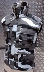 Hunters Action Vest Urban Camo Tactical Fishing Body Warmer All Sizes - NEW