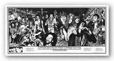 ROCK MUSIC 820 HOWARD TEMAN ART POSTER 24x36 PUNK JAM