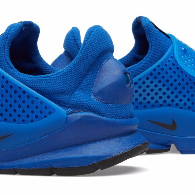 sale retailer db841 a6fcc Nike Sock Dart Independence Day Blue flyknit fragment design 686058-440  July 4th