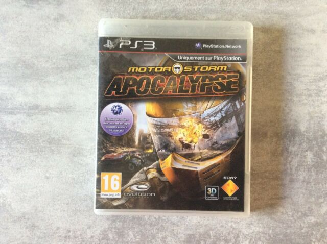 PS3 Motor Storm Apocalypse Compatible 3D PLAYSTATION 3 SONY PAL FR COMPLET